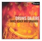 James Asher Drums on Fire CD