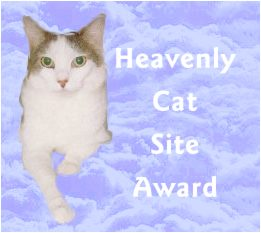 Heavenly Cat Site Award