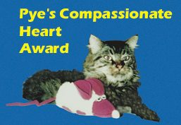 Pyewacket's award