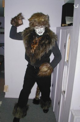 The Rum Tum Tugger costume
