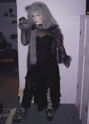 Grizabella the Glamour Cat costume
