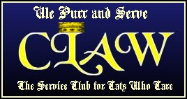 C.L.A.W. - We purr and serve!