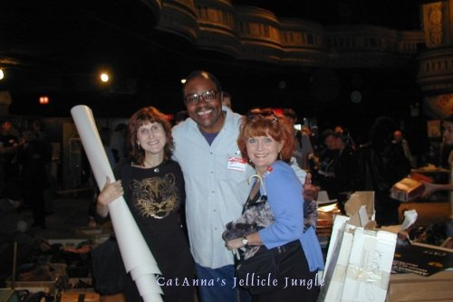 Ken Prymus, Anna McNeely & me at the CATS auction