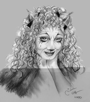 Grizabella fan art