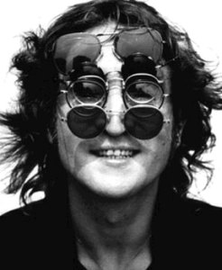 John Lennon - a very nearsighted man