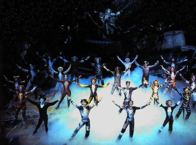 London cast of Cats the musical