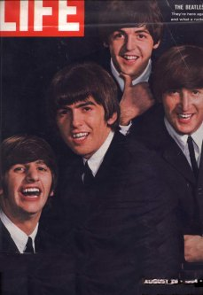Life Magazine with The Beatles on the cover 1964