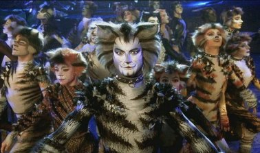 Michael Gruber as Munkustrap with the Cats