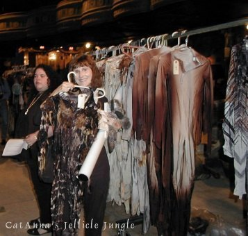 Posting with some Jellicle costumes ...  sc 1 st  The Meditative Cat & CATS Garage Sale at the Winter Garden Theater part 2