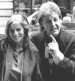 Linda McCartney & Paul McCartney