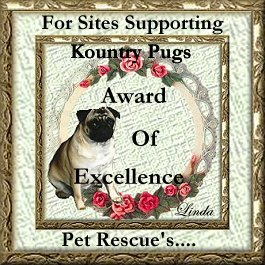 Country Pugs Rescue Award