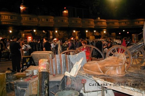 Winter Garden Theater CATS garage sale