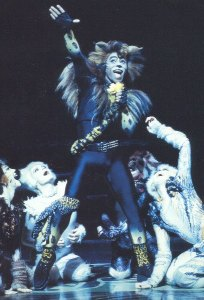 Rum Tum Tugger from Cats the London production