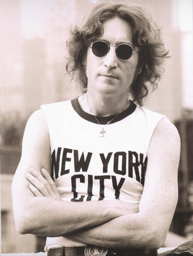 John Lennon New York City shirt
