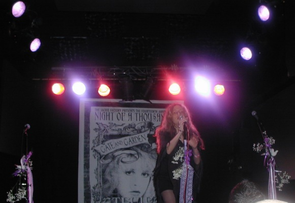 Stevie Nicks tribute performer